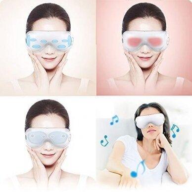Veido ir akių masažuoklis Global Relax 6
