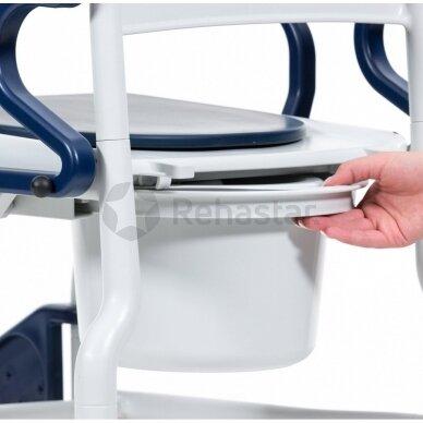 Dušo tualeto vežimėlis Bonn 2