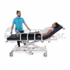 Hidraulinis pacientų transportavimo vežimėlis Safari Buffalo
