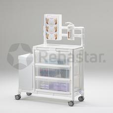 Higienos ir priežiūros vežimėlis HGW 100S