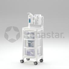 Higienos ir priežiūros vežimėlis KTW 100 HS