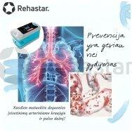 Ką apie savo sveikatą galime sužinoti naudojant pulsoksimetrą ant piršto?