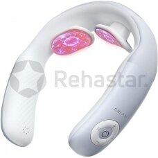 Elektromagnetinis kaklo masažuoklis su šildymo funkcija ANLAN Smart