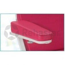 Paminkštinta rankų atrama Likamed kėdėms