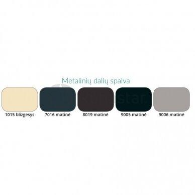 Kita metalinių dalių spalva