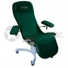 Kraujo paėmimo kėdė DENEO su ratukais