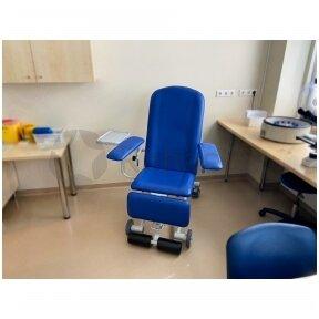 Kraujo paėmimo ir procedūrų kėdė BASIC PLUS -  DR. A. KILDOS KLINIKA