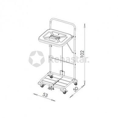 Logistikos vežimėlis VAKO120C/N - 23048KN 2