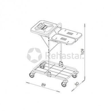 Logistikos vežimėlis VAKO120I - 12319 2