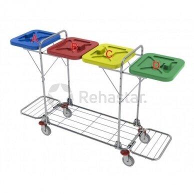 Logistikos vežimėlis VAKO120L - 122336