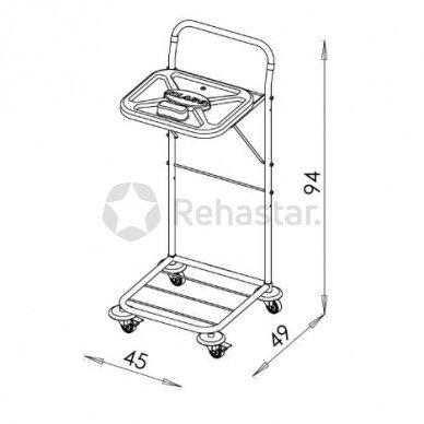Logistikos vežimėlis VAKO80C - 8003 2