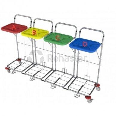 Logistikos vežimėlis VAKO80C/4 - 8007