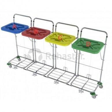 Logistikos vežimėlis VAKO120C/4 - 23048K4