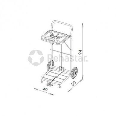 Logistikos vežimėlis VAKO80D - 8004 2