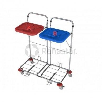 Logistikos vežimėlis VAKO80C/2 - 8005