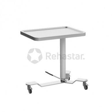 Nerūdijančio plieno staliukas instrumentams NEREZ 1113