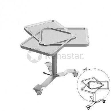Nerūdijančio plieno staliukas instrumentams NEREZ 1113 2