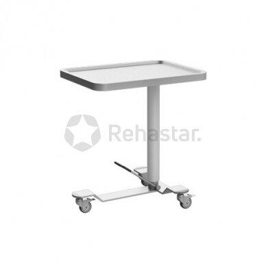 Nerūdijančio plieno staliukas instrumentams NEREZ 1114