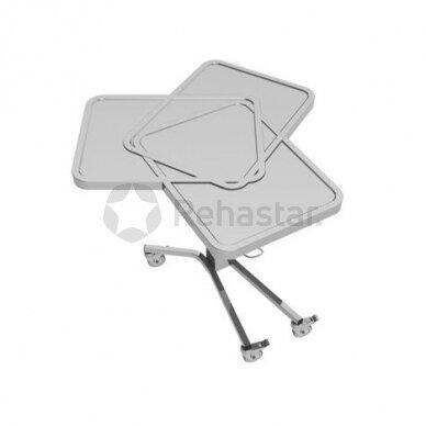 Nerūdijančio plieno staliukas instrumentams NEREZ 1120 2