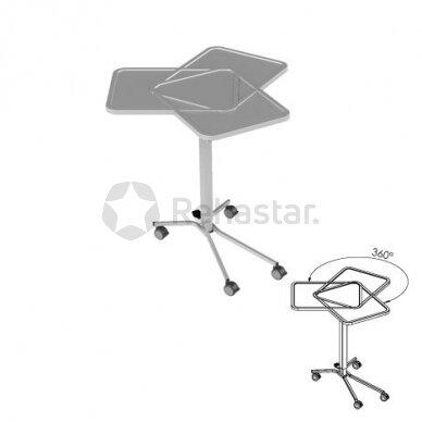 Nerūdijančio plieno staliukas instrumentams NEREZ 1130 2