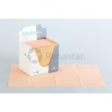 Paklojimo popierius masažui su folija 77 x 210 cm