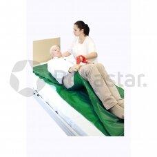 Pacientų vartymo paklodė su rankenomis DTR