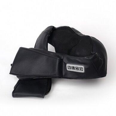 Kaklo, pečių ir nugaros elektrinis masažuoklis MONDO Global Relax 4