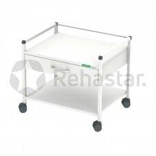Procedūrinis vežimėlis su stalčiais žemas 12078