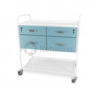 Procedūrinis vežimėlis JUVW4