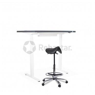 Reguliuojamo aukščio stalas CANUS su ergonomine kėde JDT2