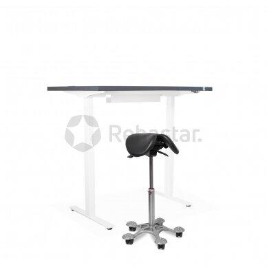 Reguliuojamo aukščio stalas CANUS su ergonomine kėde SALLI MULTIADJUSTER