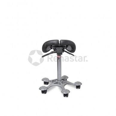 Reguliuojamo aukščio stalas ALBUS su ergonomine kėde SALLI MULTIADJUSTER 5
