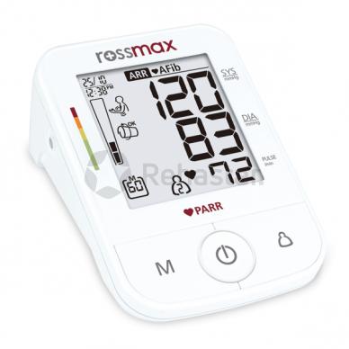 Rossmax X5 kraujospūdžio matuoklis su adapteriu 2
