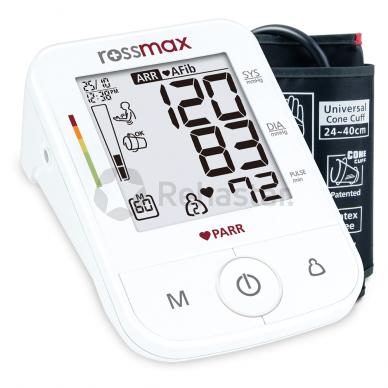 Rossmax X5 kraujospūdžio matuoklis su adapteriu 3