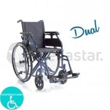 Sulankstomas neįgaliojo vežimėlis DUAL SERIES CP200-46