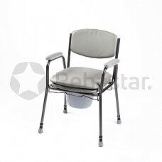 Tualeto kėdė paminkštinta sėdyne SIV04-7400
