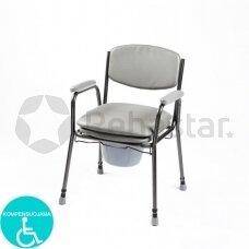 Tualeto kėdė su paminkštinta sėdyne SIV04-7400