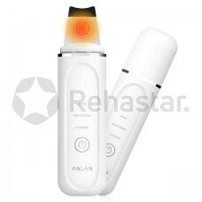 Ultragarsinis veido valymo prietaisas su šilumos terapija ANLAN