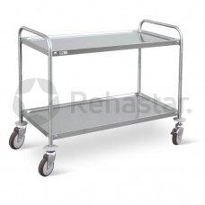 Procedūrinis vežimėlis su lentynomis 01F